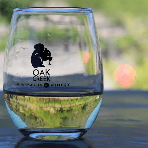 Small Logo Glass