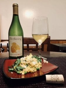 chardonnay lemon risotto