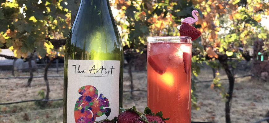 Artist's Strawberry Daiquiri